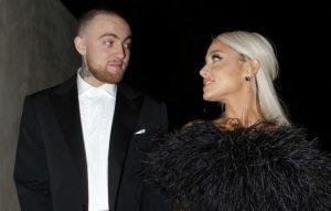 Ariana Grande shares mac miller clip