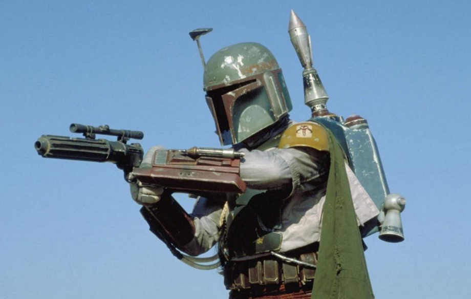 Here's the first photo from new Star Wars TV show 'The Mandalorian'