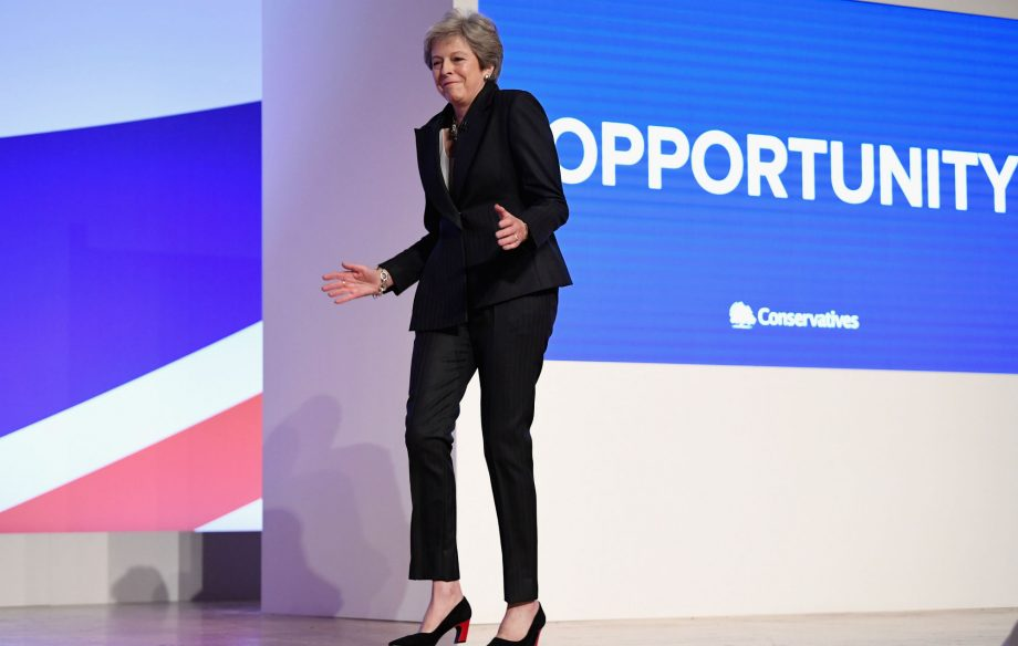 Here Are The 10 Best Reactions To Theresa May Dancing At The Tory