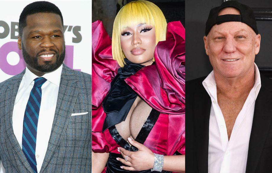 1e8ff4fbe58 50 Cent backs Nicki Minaj after shoe designer Steve Madden denies ...