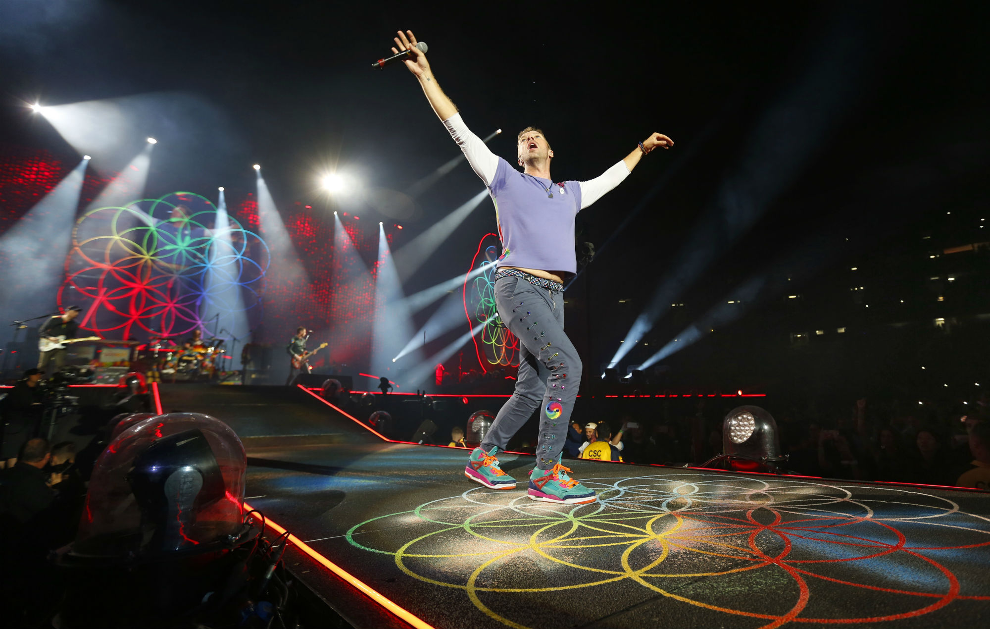 Coldplay announce new live album and concert film