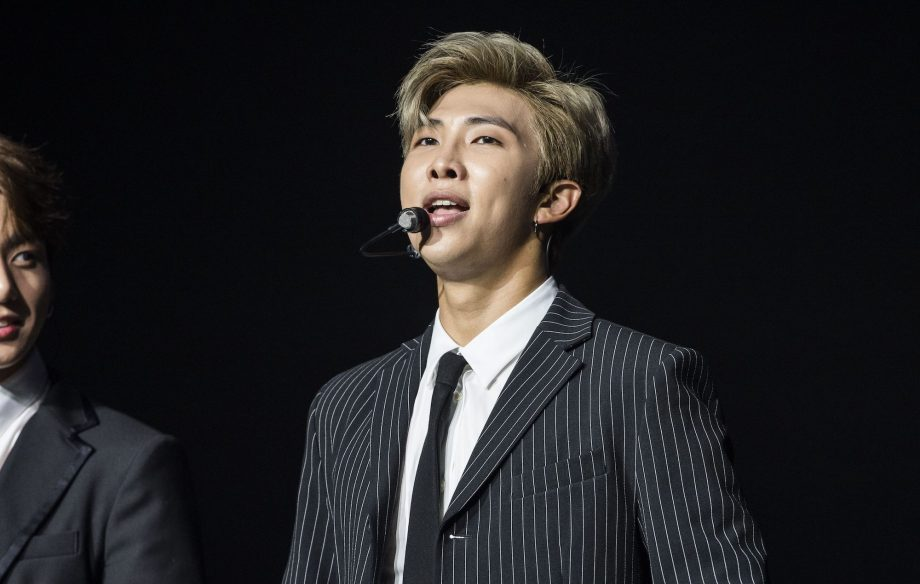 BTS' RM shares 'Seoul' lyric video and new 'playlist' 'mono ' - NME