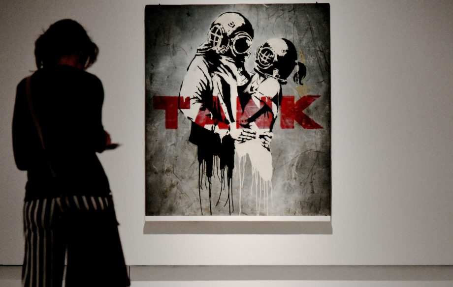 Newspaper cartoonist says Banksy 'pinched' many of her ideas – including Blur's 'Think Tank' album cover