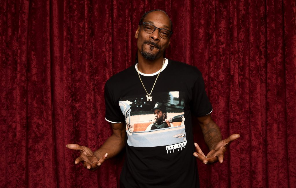 Snoop Dogg awarded star on Hollywood Walk of Fame