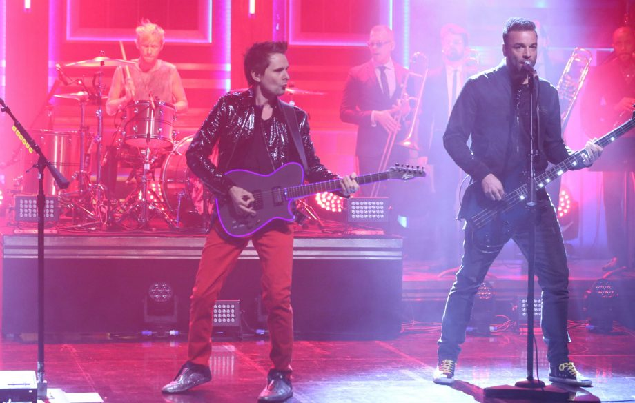 Watch Muse bring 'Pressure' to 'The Tonight Show with Jimmy Fallon'