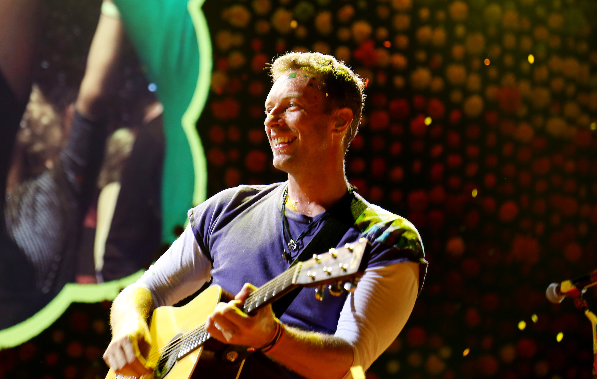 Listen to a snippet of a new Coldplay song, 'Guns'