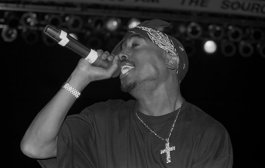 A memorial plaque to Tupac has been taken town by a council in Sussex