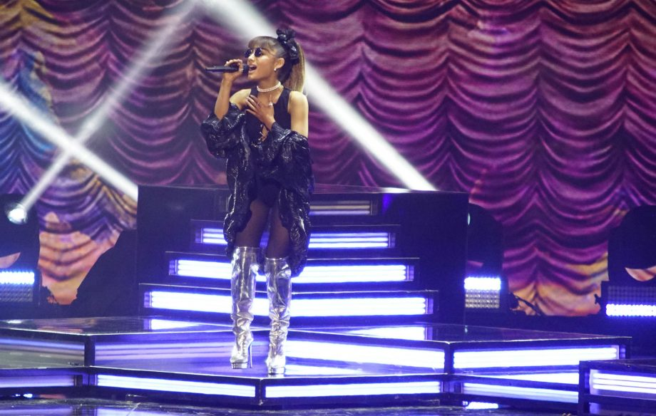 Ariana Grande sends 'peace and love' to troll who said she's milking