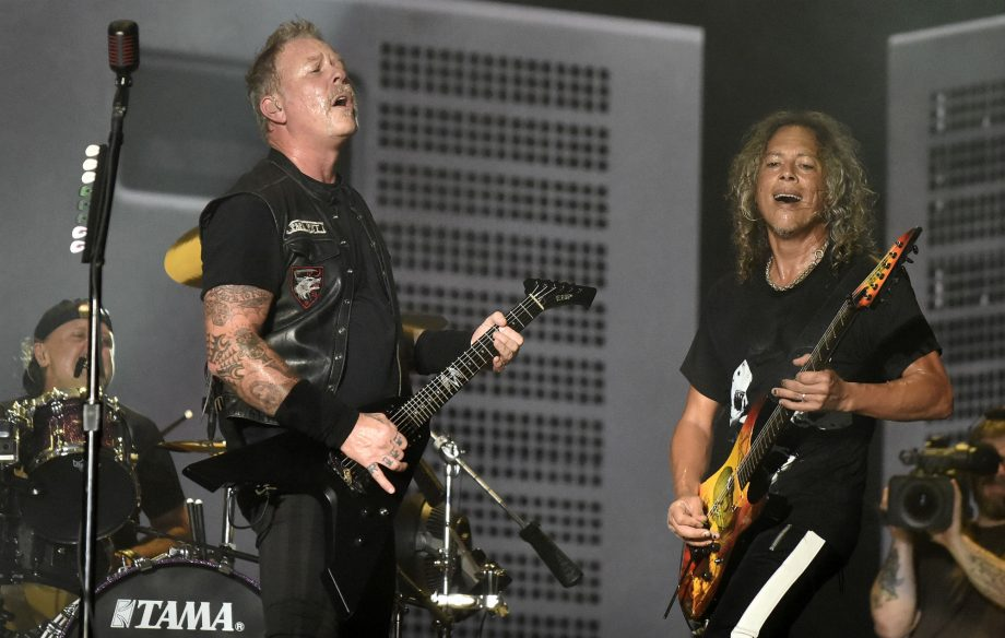 Metallica donate