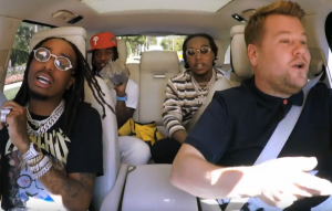 Watch Migos Deliver An Unlikely Neil Diamond Cover On 'carpool Karaoke'