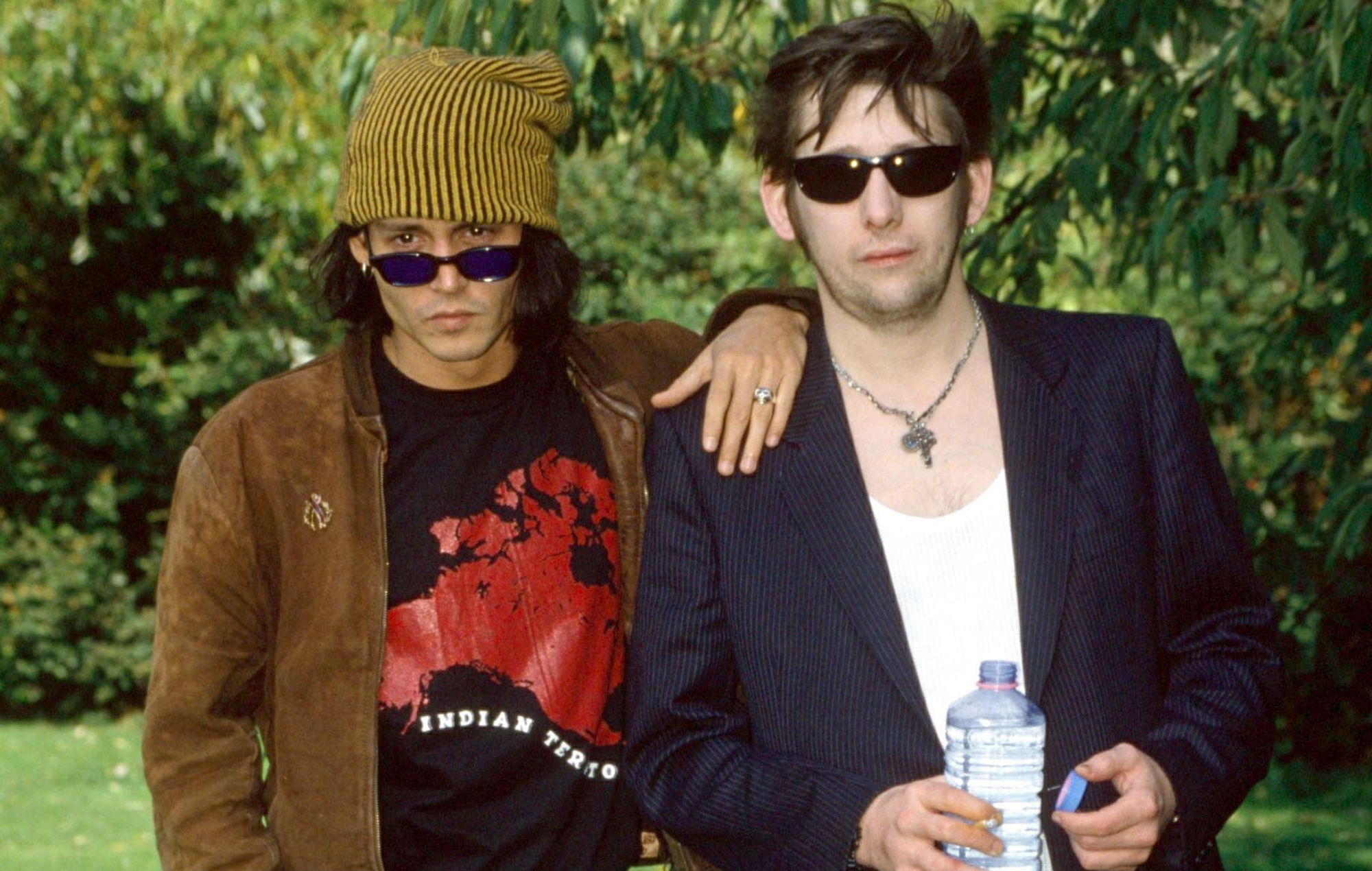 Johnny Depp Is Playing Guitar At Shane Macgowan S Wedding