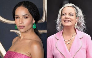 """Zoë Kravitz Says Lily Allen """"attacked"""" Her With A Kiss"""