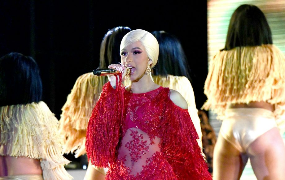 Cardi B Teases New Music Gets A Huge Back Tattoo: Cardi B Teases That New Album Is On The Way