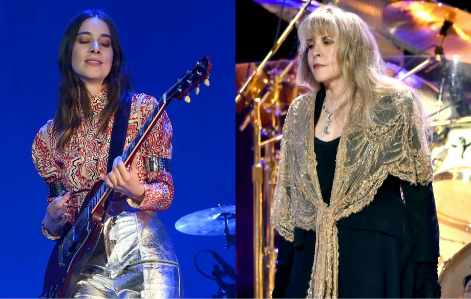 Fleetwood Mac's Stevie Nicks told Haim to go solo after becoming first woman to be inducted twice into Rock & Roll Hall of Fame