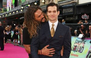 Jason Momoa and Henry Cavill