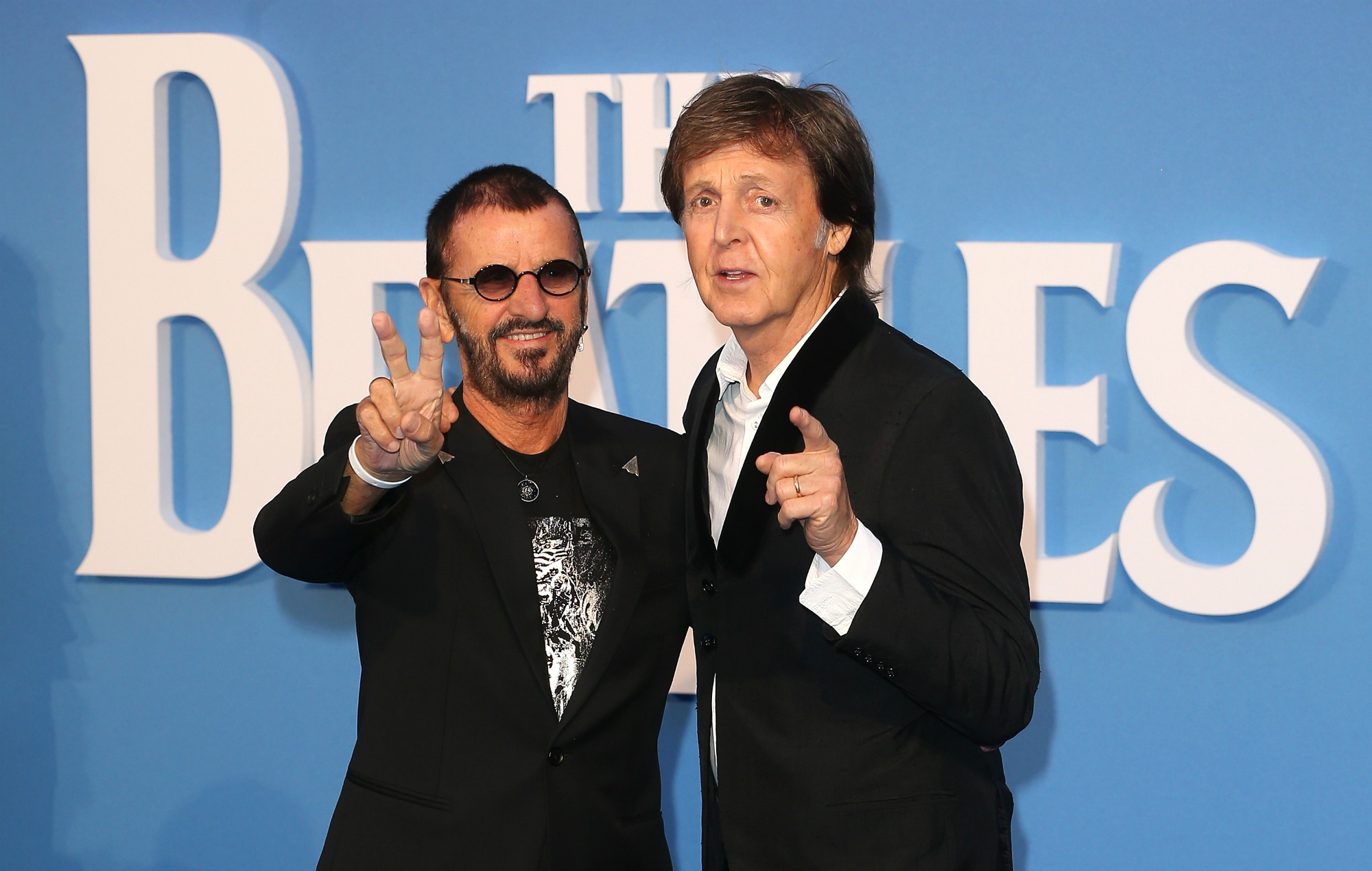 It S Beatlemania At The O2 As Ringo Starr Is Spotted In