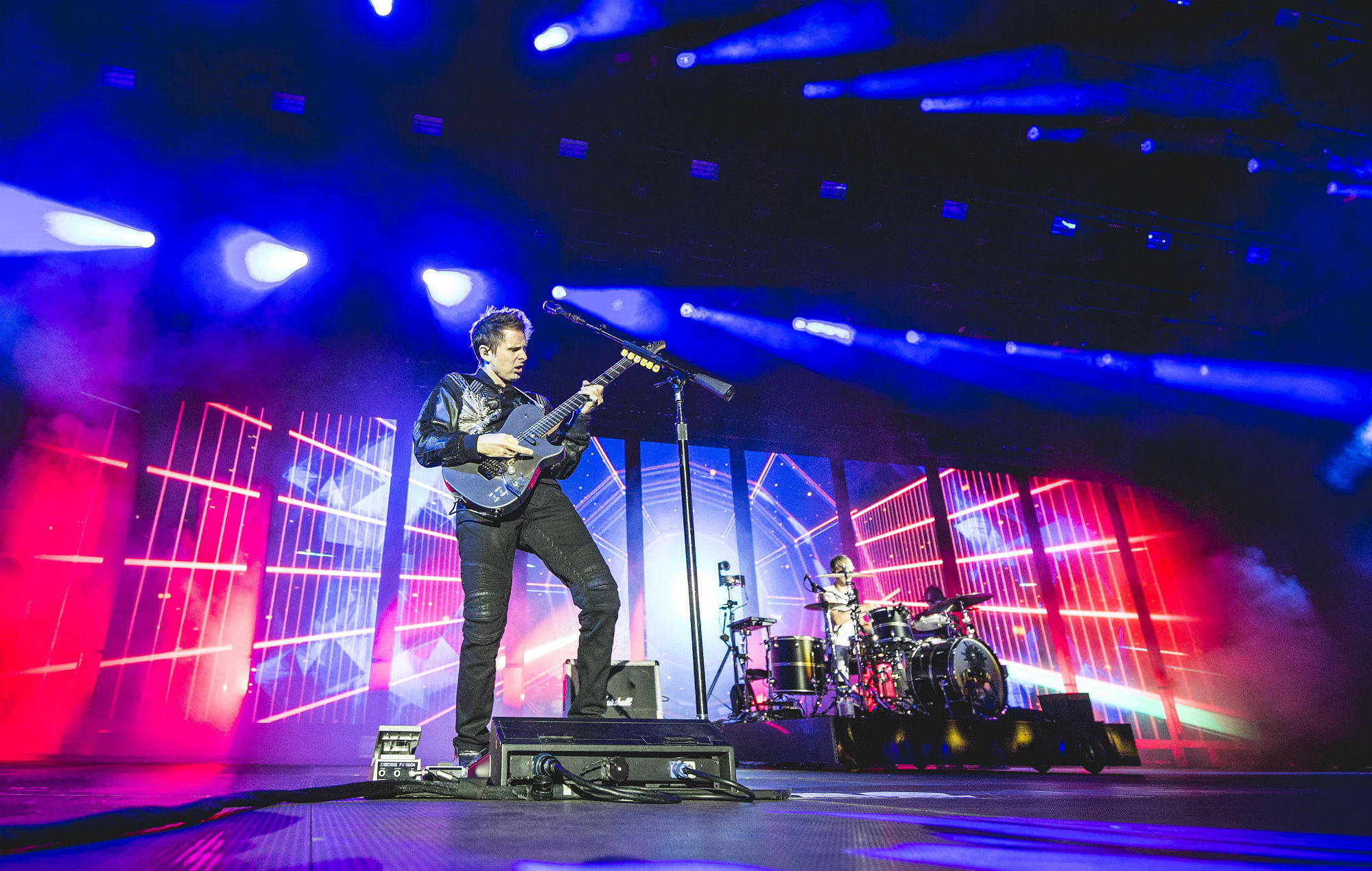 Muse On What To Expect From Their David Byrne Inspired