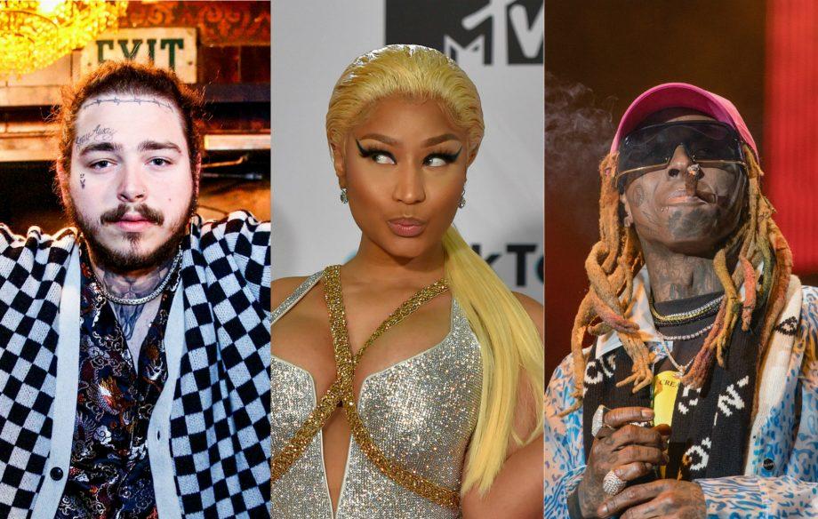 Post Malone, Lil Wayne and Nicki Minaj to appear on Spider-Man soundtrack