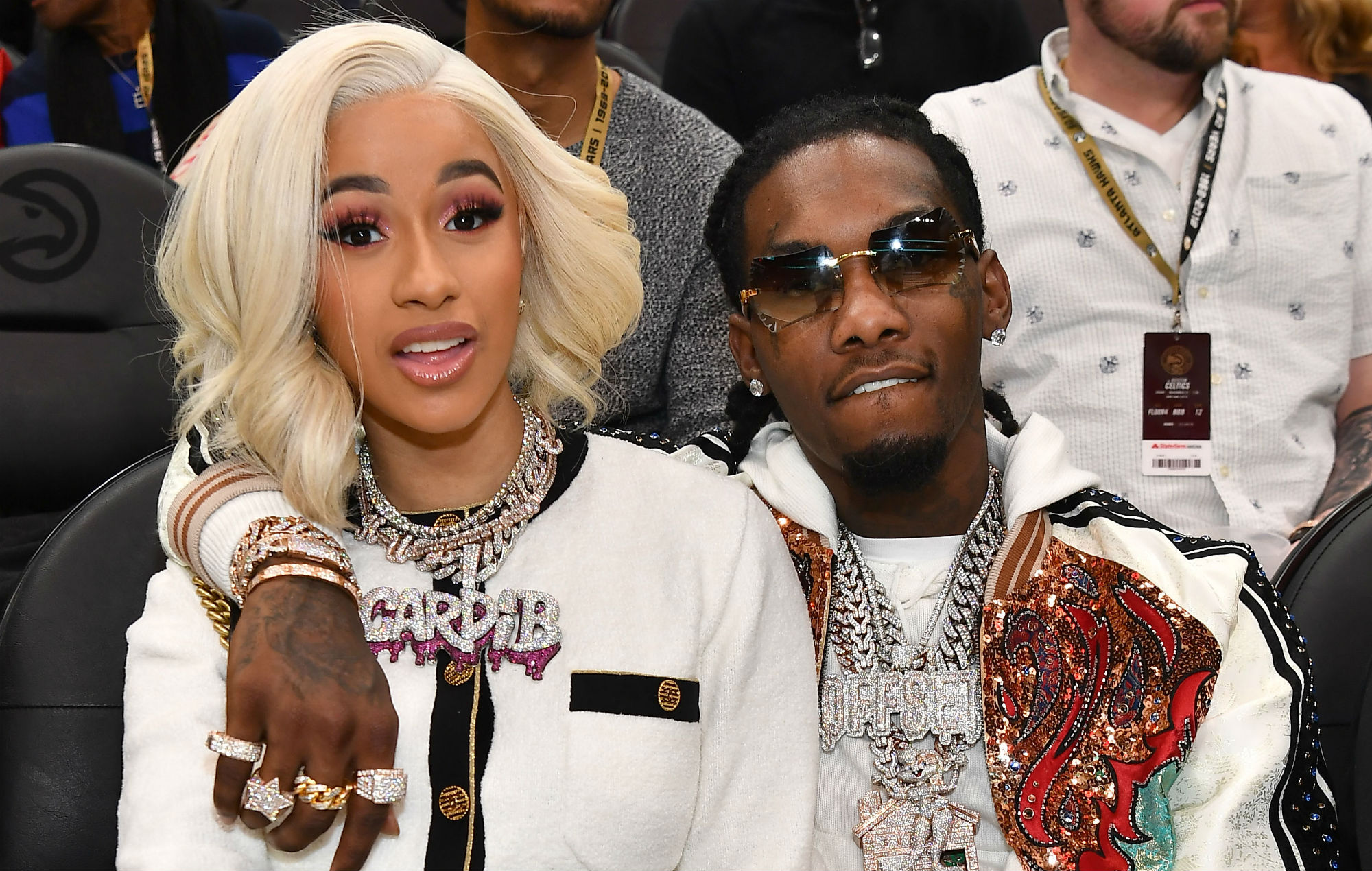 Cardi B Reveals Huge Offset Tattoo Of Husband S Name On: Cardi B Announces Separation From Migos' Offset After A