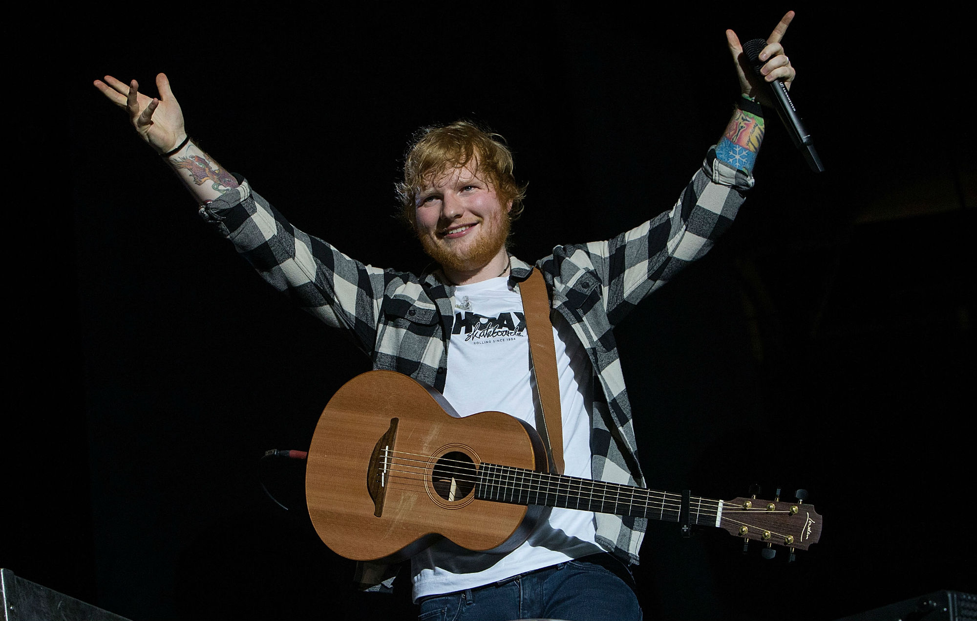 Here S How Much Ed Sheeran S Divide Tour Made And It