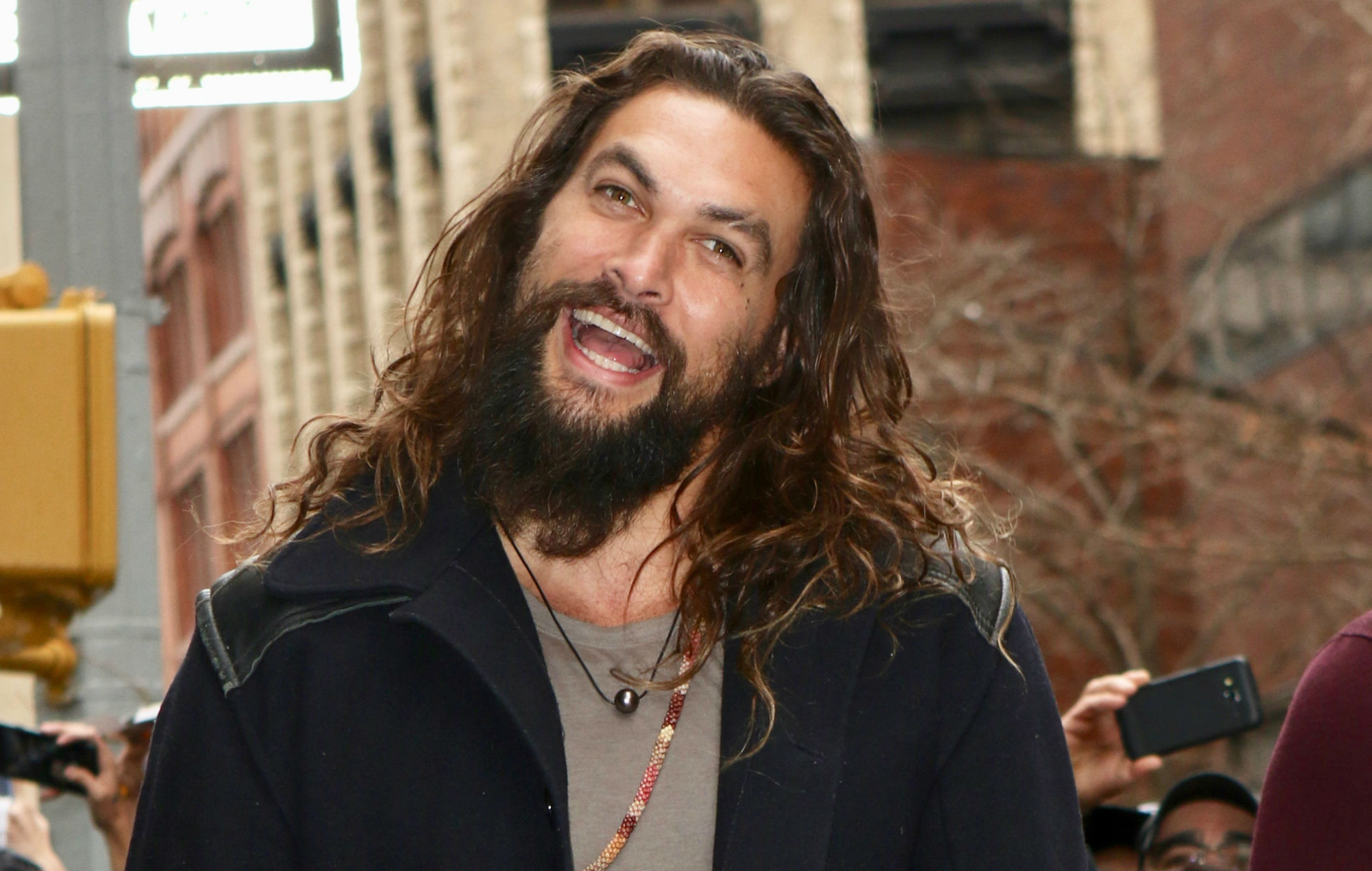 Watch Jason Momoa Reprise His Role Of Khal Drogo During