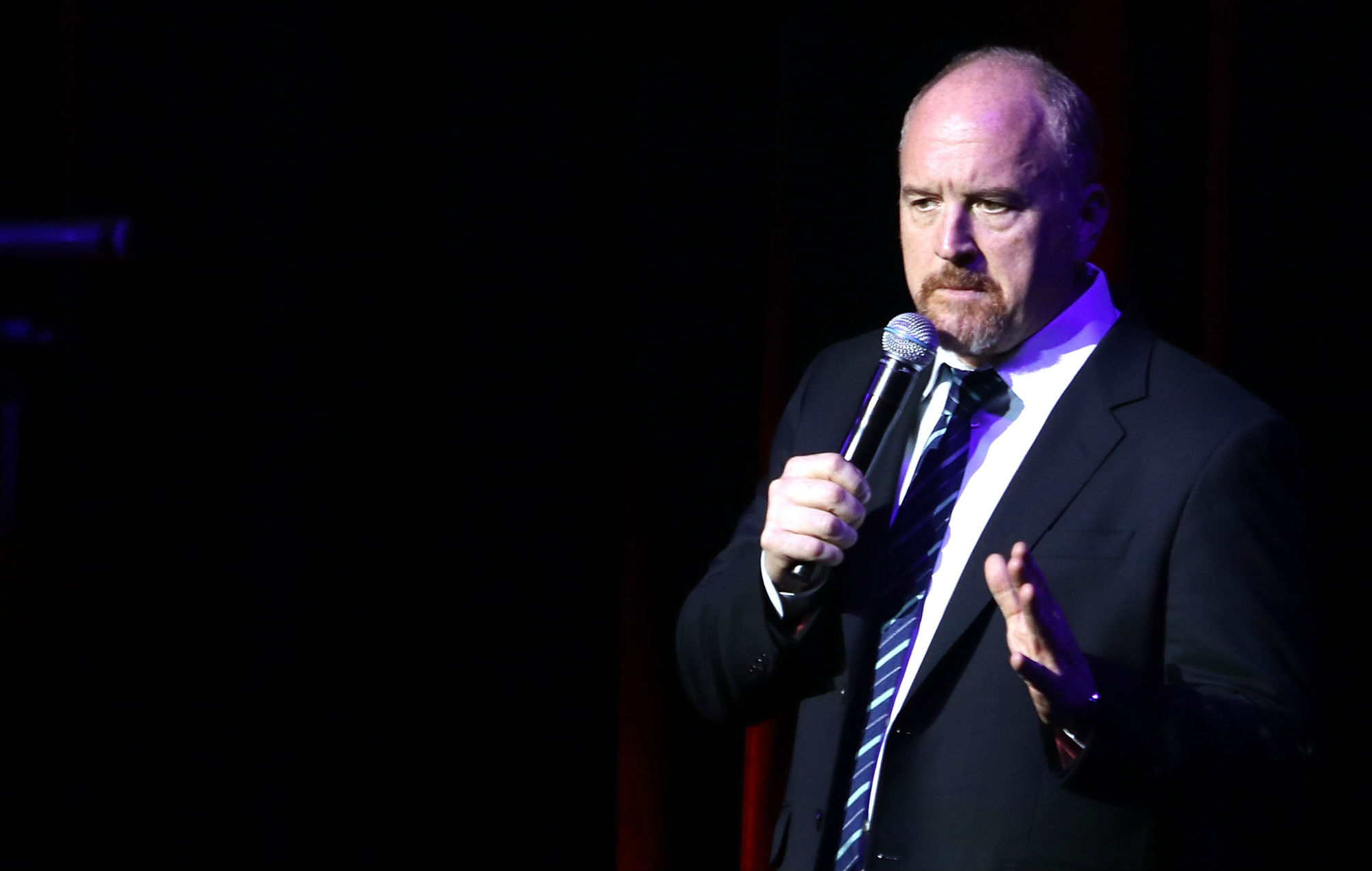 Get your dick out woman explains why she heckled louis - Louis ck madison square garden december 14 ...