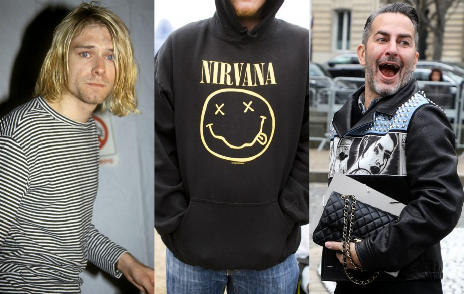 Marc Jacobs denies stealing Nirvana's iconic smiley face logo