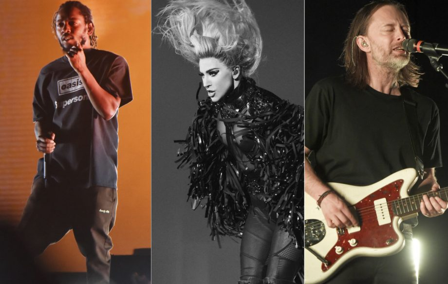 Thom Yorke, Kendrick Lamar and Lady Gaga lead Oscars nods for Best Original Song