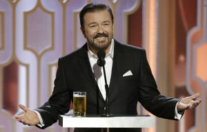 Ricky Gervais wants to host