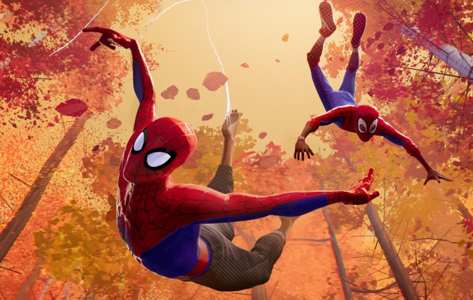 it took the artists on spider man into the spider verse a