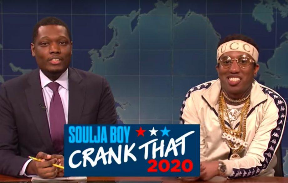 Drakes New Album 2020 SNL' spoof Soulja Boy's Drake diss during 'Crank That 2020