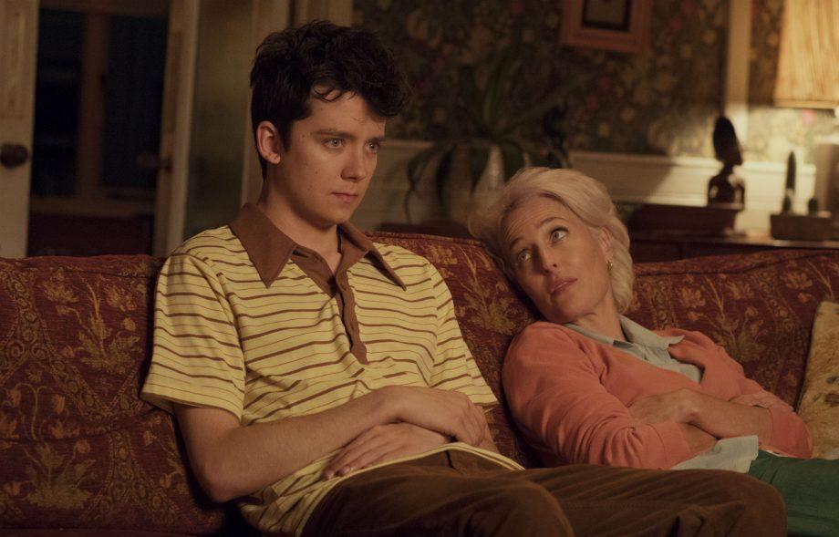 Netflix's Sex Education: Asa Butterfield and Gillian