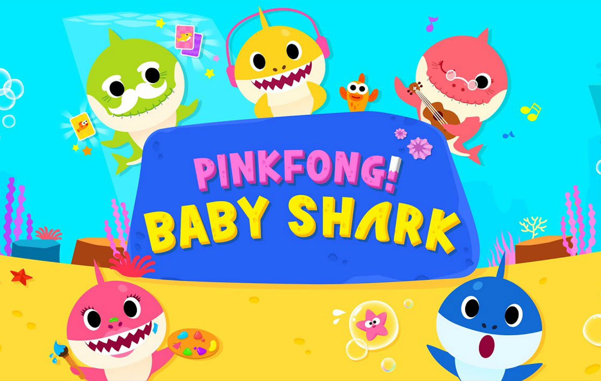Baby Shark is in the charts but no one is getting the ...