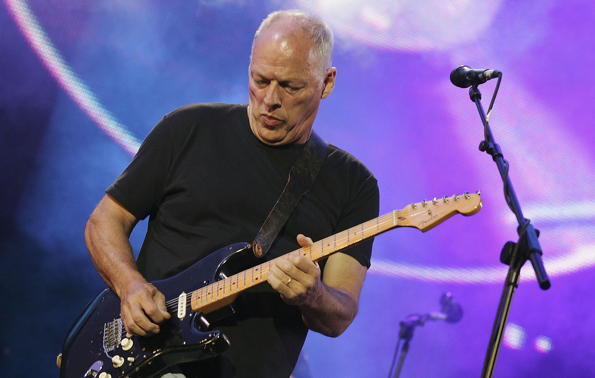 pink floyd 39 s david gilmour is selling his iconic guitars. Black Bedroom Furniture Sets. Home Design Ideas