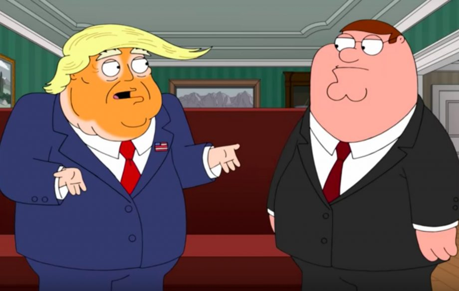 Trump on Family Guy