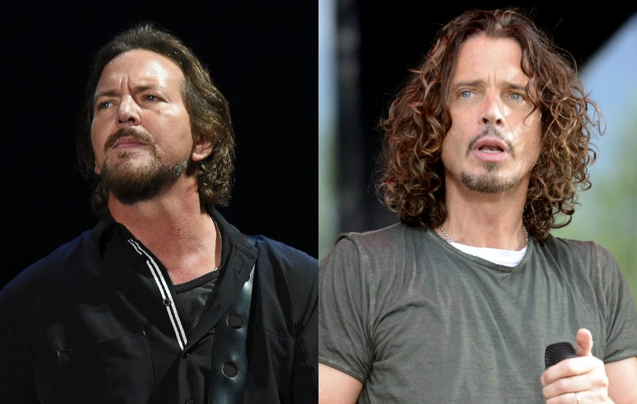 pearl jam say death of chris cornell has affected new album. Black Bedroom Furniture Sets. Home Design Ideas