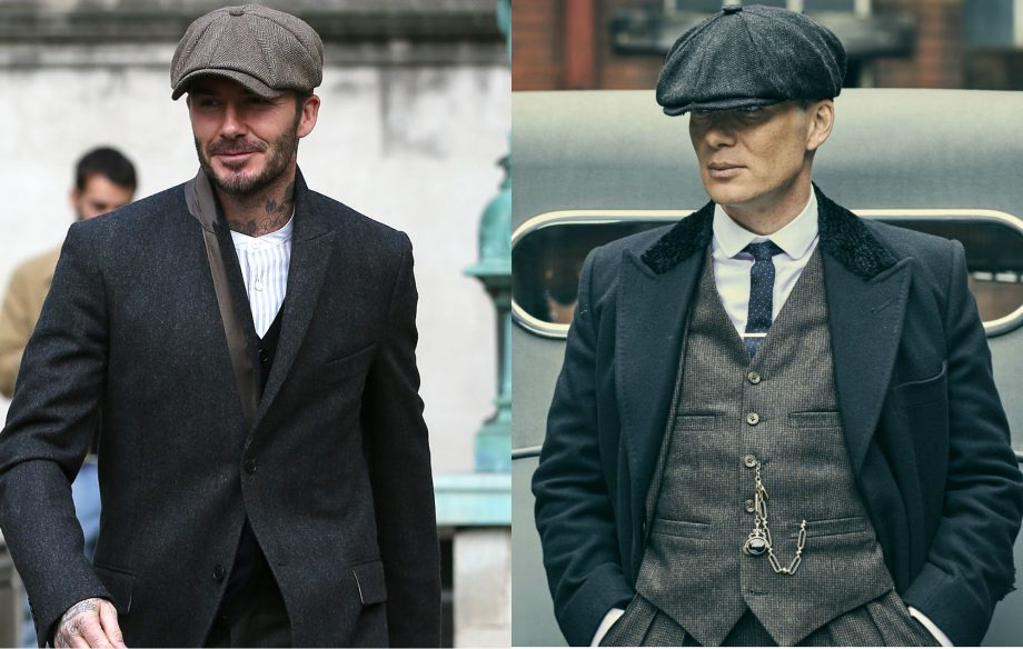 11bbf673f79 David Beckham and Cillian Murphy in  Peaky Blinders  Credit  Getty BBC