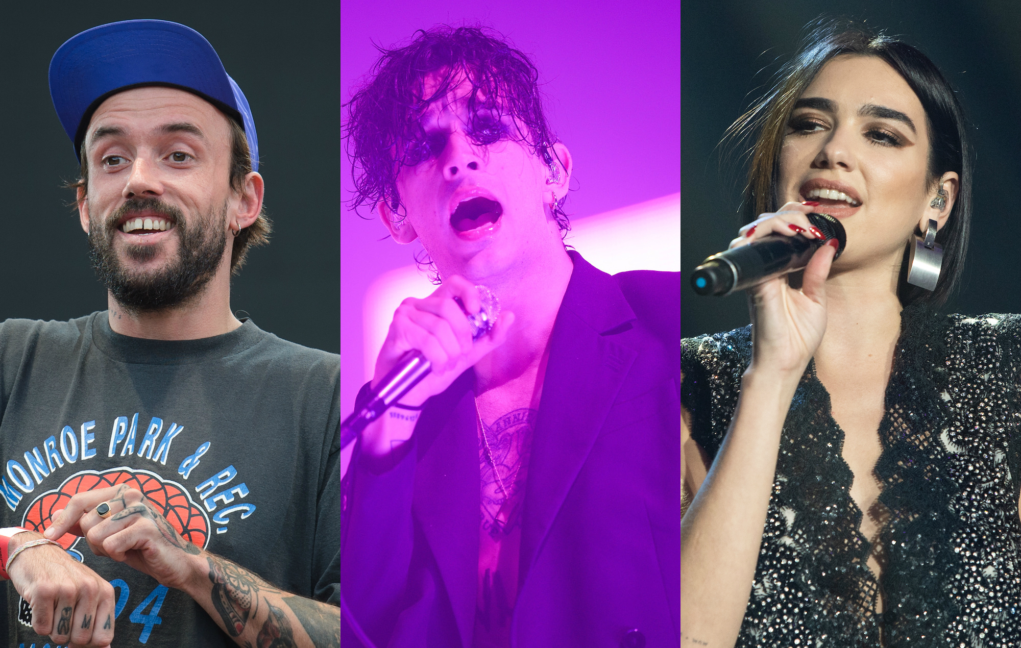 IDLES, The 1975, and Dua Lipa amongst stars nominated for