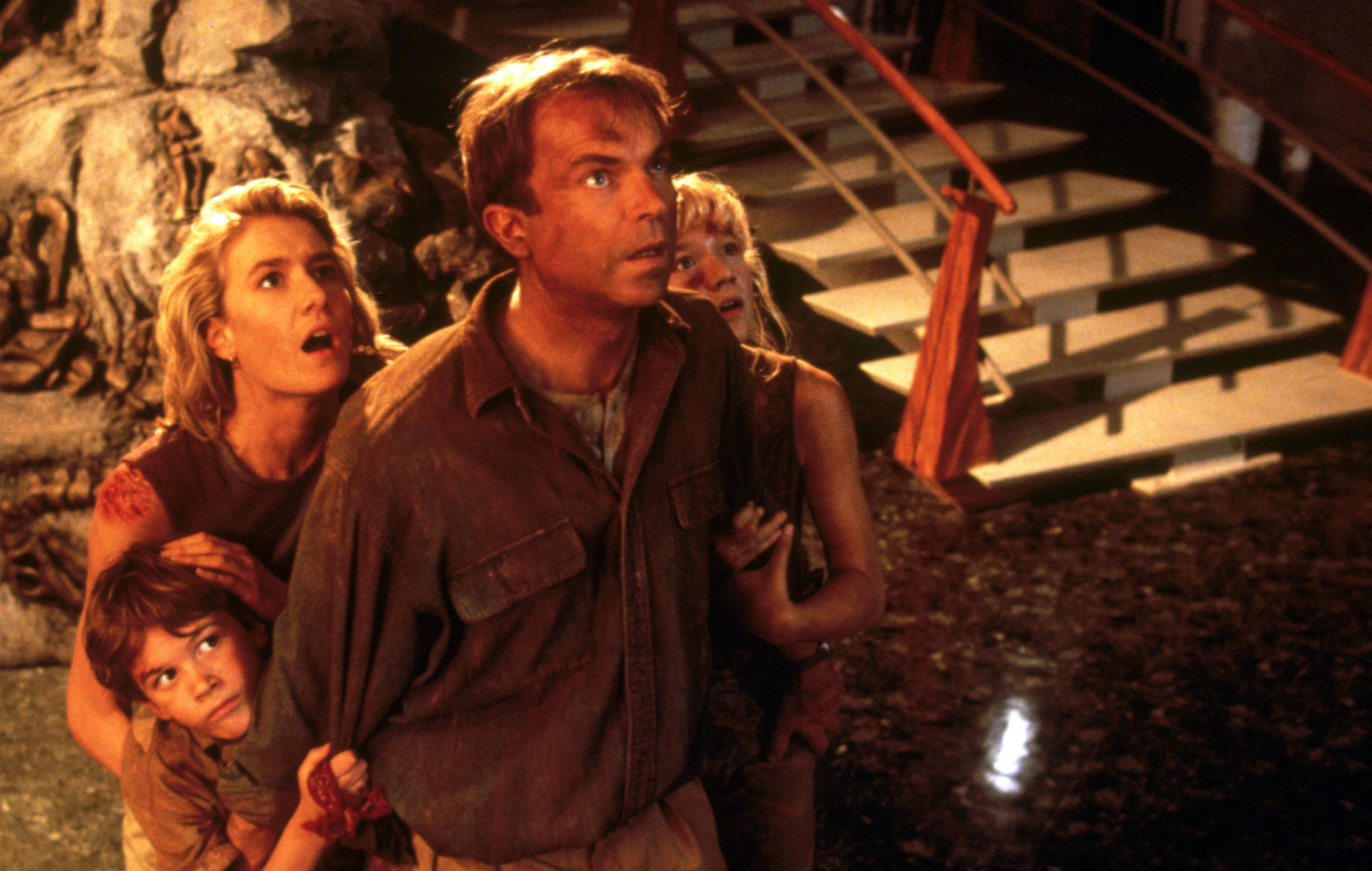 The original Jurassic Park cast have held a mini-reunion