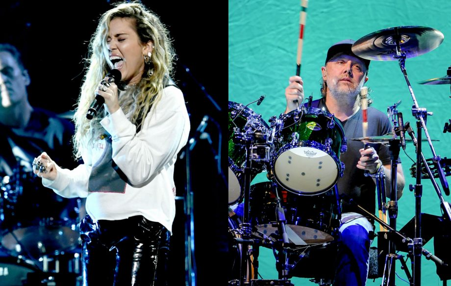 "Metallica's Lars Ulrich was ""stunned"" by Miley Cyrus' performance at Chris Cornell tribute concert"