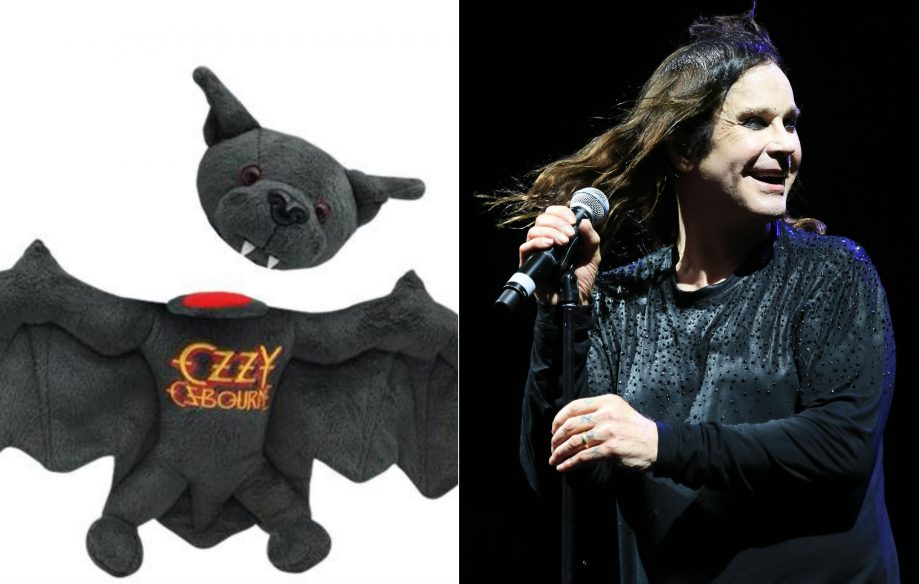 Ozzy Osbourne releases plush toy to mark anniversary of biting a bat's head off