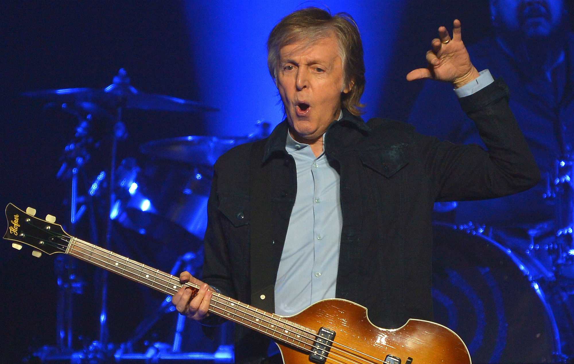 listen to a heavily auto tuned paul mccartney on his new song get