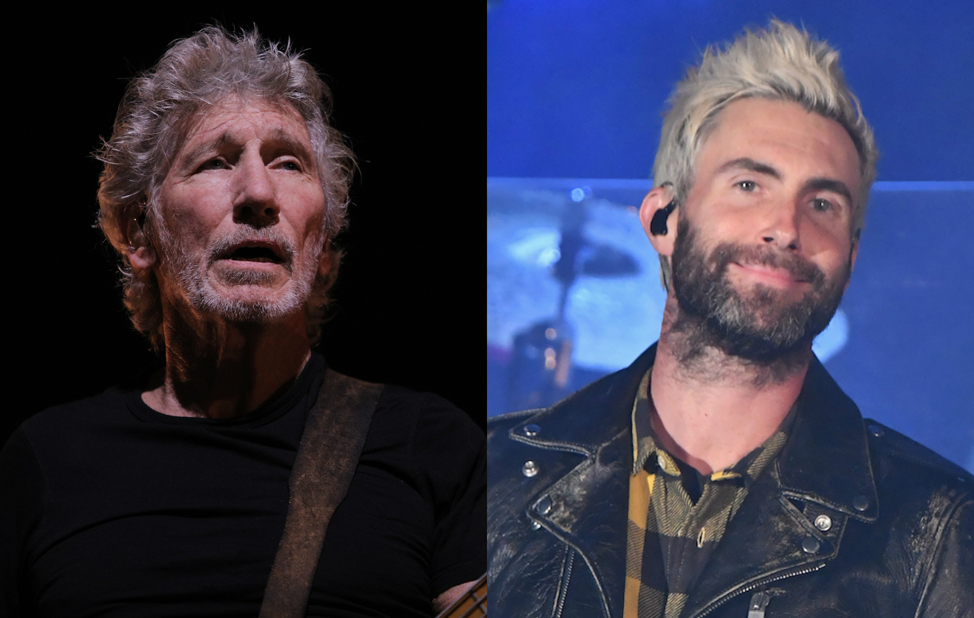 pink floyd 39 s roger waters ask maroon 5 to 39 take a knee 39 during super bowl halftime show. Black Bedroom Furniture Sets. Home Design Ideas