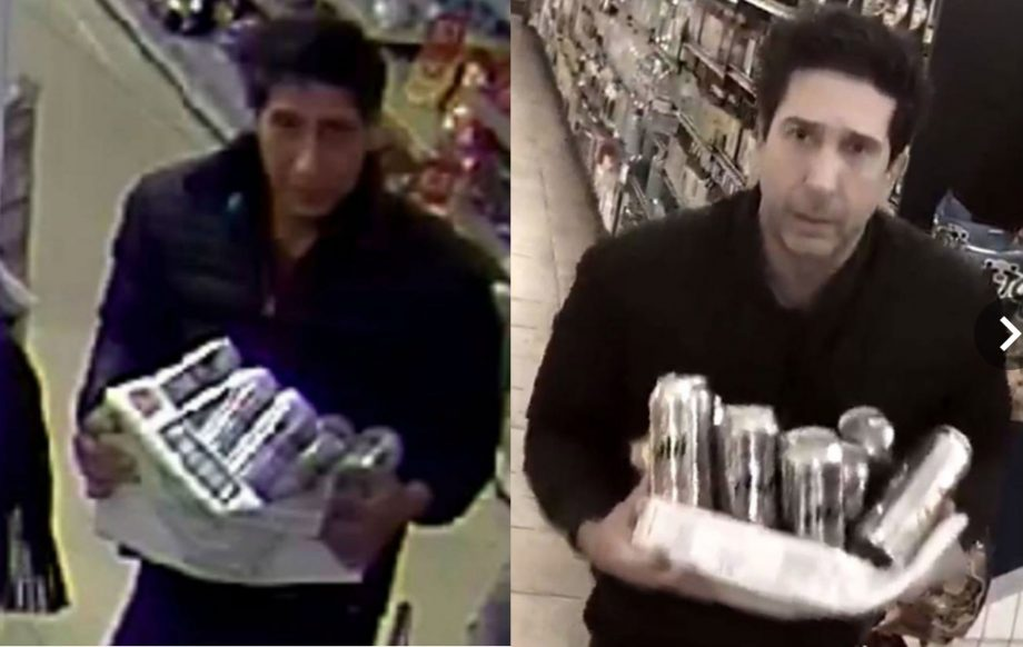 That alleged thief who looked like Ross from 'Friends' doesn't look anything like Ross from 'Friends'