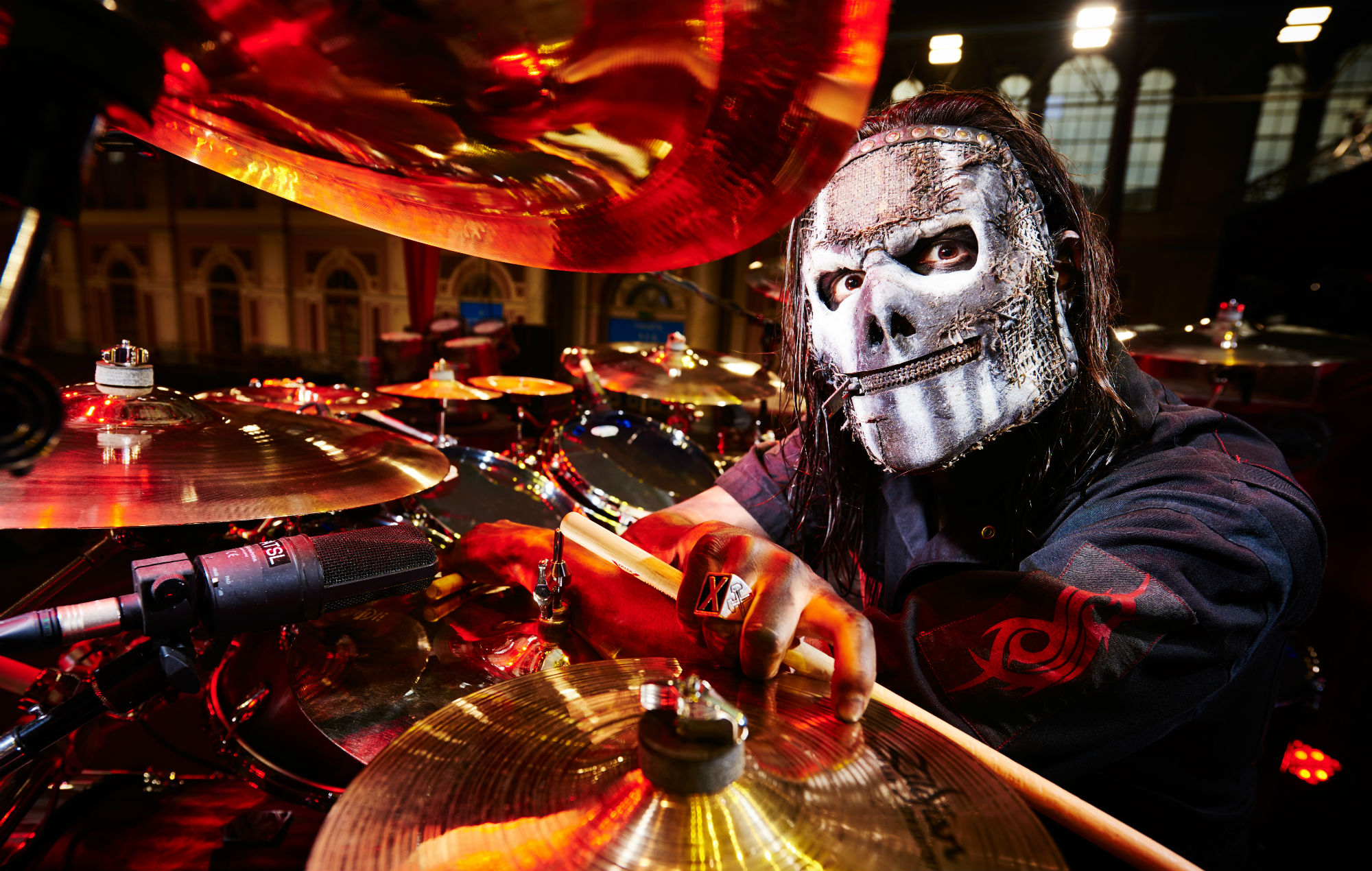 Slipknot Drummer Shares Grisly Photo That Suggests Band Is