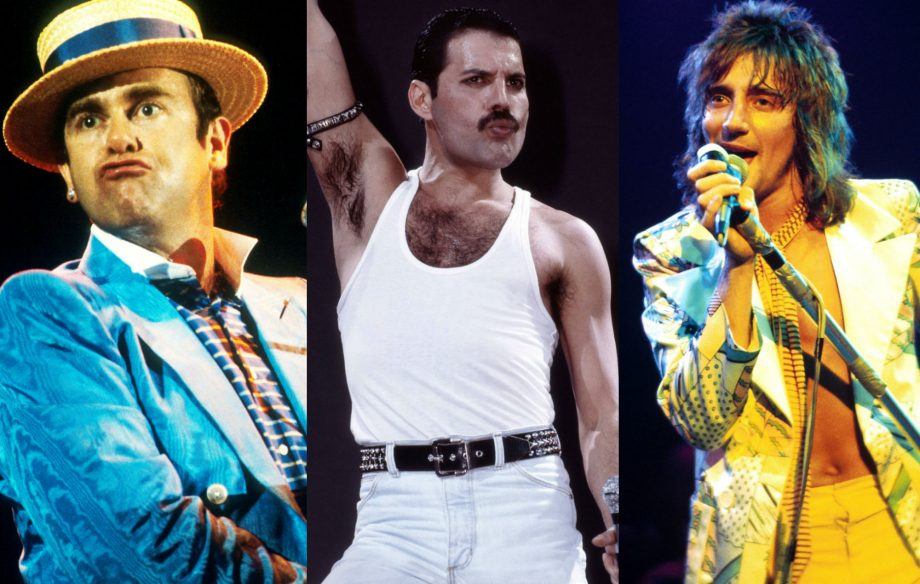 Elton John, Freddie Mercury and Rod Stewart once considered forming a supergroup