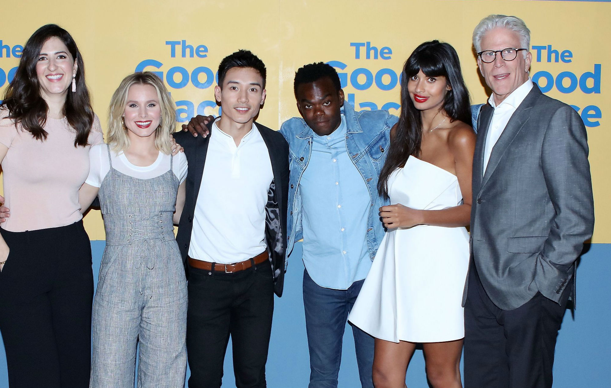 'The Good Place' cast to host the Oscars in character: the ...