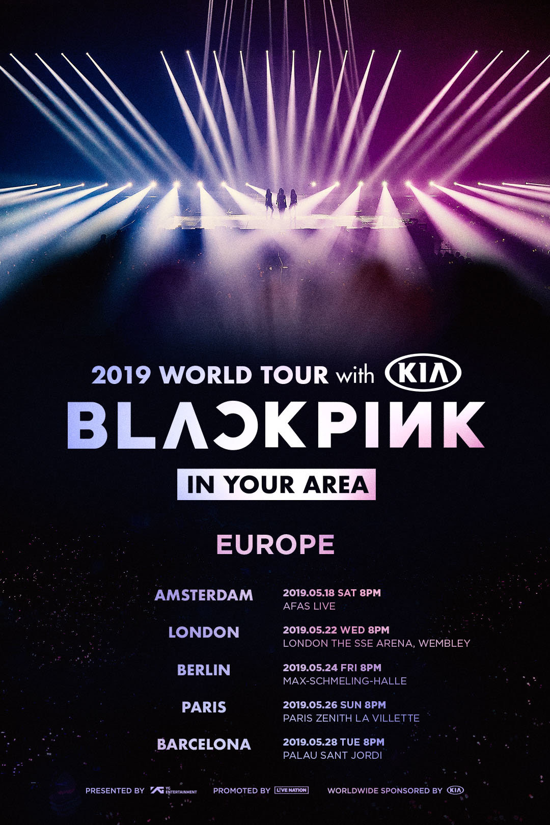 BLACKPINK announce UK and European tour dates - NME