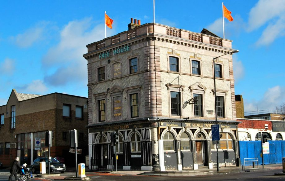 London's historic George Tavern venue has been saved after years of campaigning