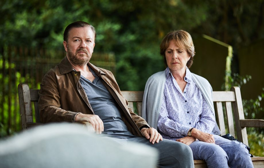 Watch Ricky Gervais struggle to cope with widowed life in trailer for new series 'After Life'
